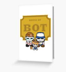 O'BABYBOT: House of Bot Family Greeting Card