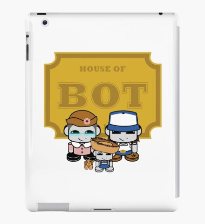 O'BABYBOT: House of Bot Family iPad Case/Skin