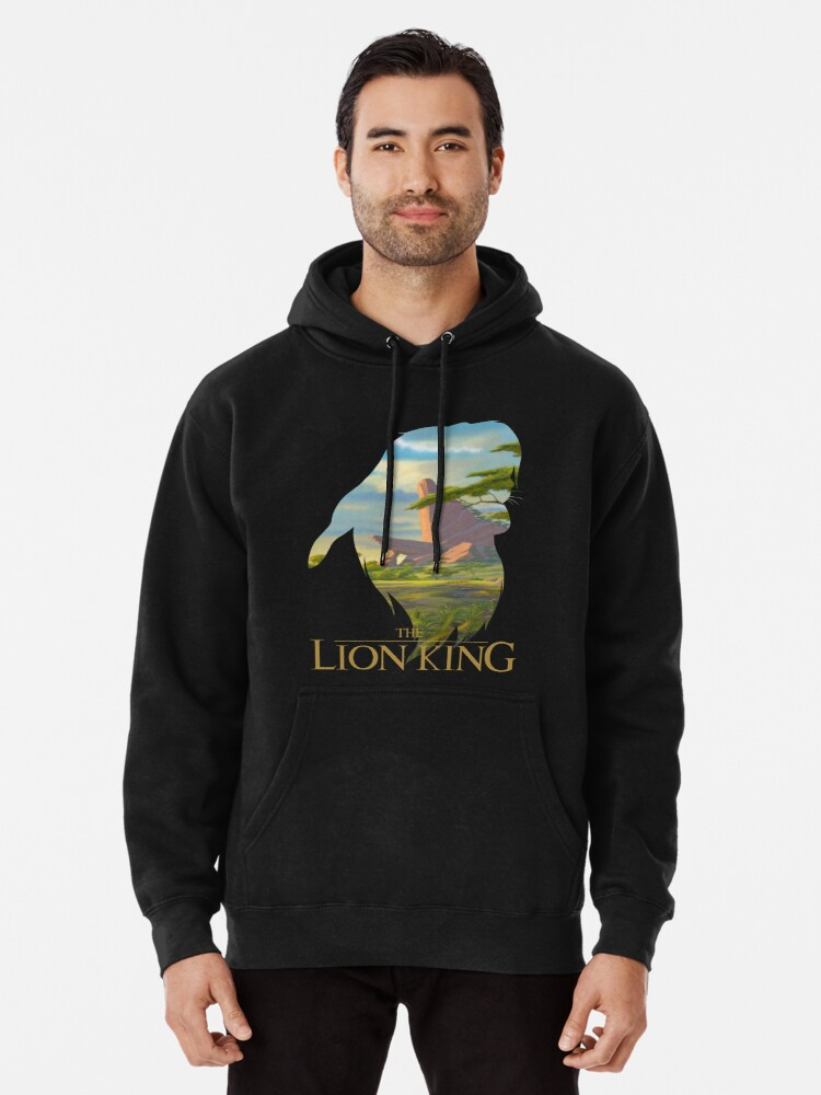 The Lion King Pullover Hoodie By Arfart Redbubble