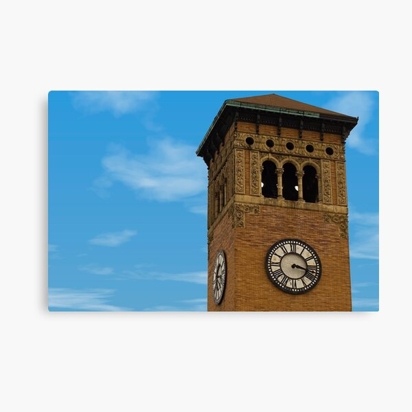 Tacoma Clock Tower Canvas Print