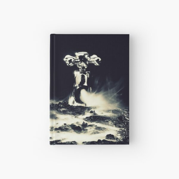 When the water disappears  Hardcover Journal