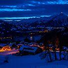 Winter in Alpen by GOSIA GRZYBEK