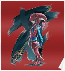 Young Zora Breath of the Wild Poster