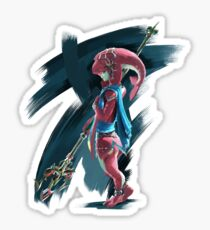 Young Zora Breath Of The Wild Sticker