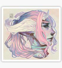 Pastel Prince Sticker