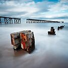 Abandoned Piers, Hartlepool by PaulBradley