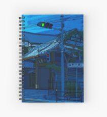 Blue Temple Nezu Spiral Notebook
