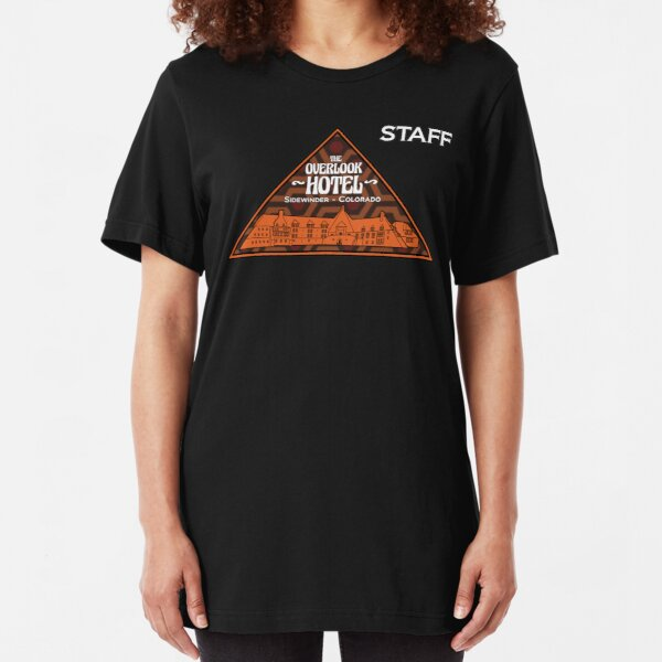 "The Overlook Hotel ""Staff"" Slim Fit T-Shirt"