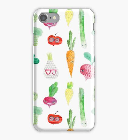 Veggie party iPhone Case/Skin