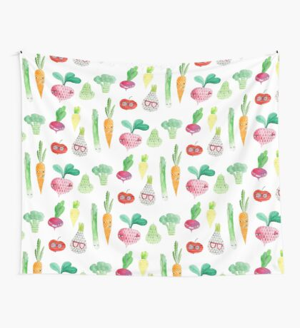 Veggie party Wall Tapestry