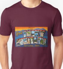 Vintage Greetings from Great Smoky Mountains National Park Unisex T-Shirt