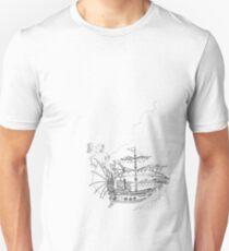 Pirate Ship T-Shirt T-Shirt