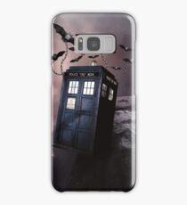Flying Blue Box In Space Hoodie / T-shirt Samsung Galaxy Case/Skin