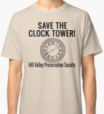 Save The Clock Tower! Back To The Future Classic T-Shirt