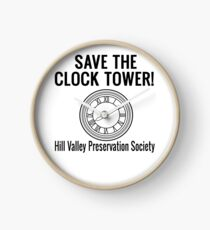 Save The Clock Tower! Back To The Future Clock