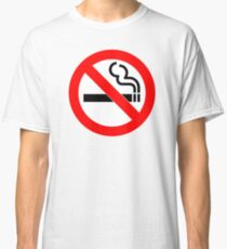 No Smoking Classic T-Shirt