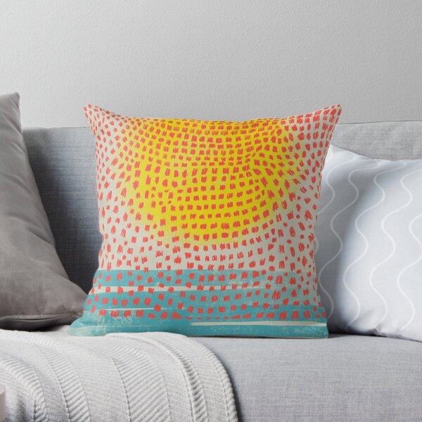 sunspots Throw Pillow