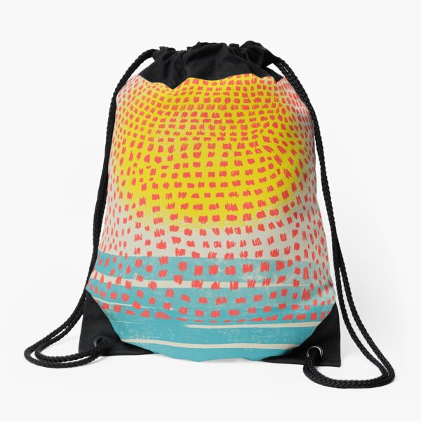 sunspots Drawstring Bag