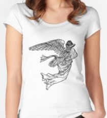 Soaring Angel Women's Fitted Scoop T-Shirt