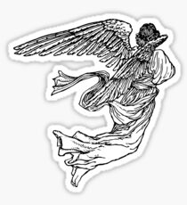 Soaring Angel Sticker