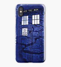 Scratch Blue Box Hoodie / T-shirt iPhone Case