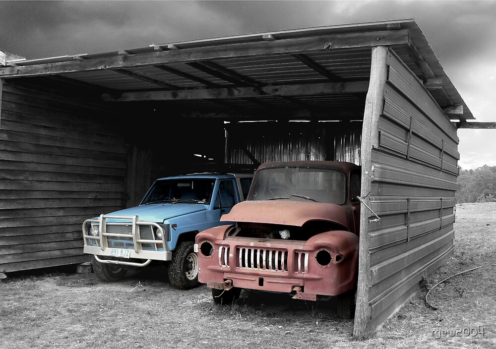 Tired Trucks by Greg Halliday