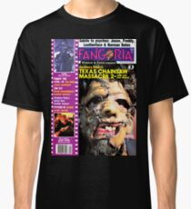 Fangoria 57 Leatherface Cover Classic T-Shirt