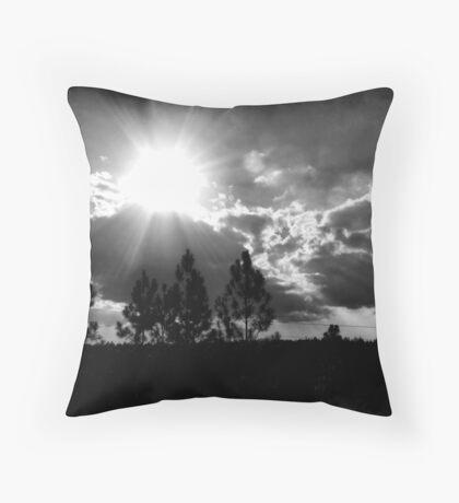 Sunshine On My Shoulder Throw Pillow