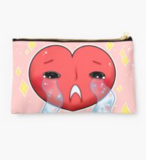 Your Crying Heart Studio Pouch