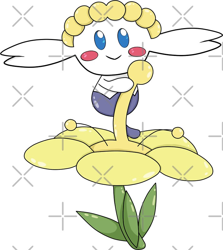 pokemon coloring pages flabebe flower - photo#30