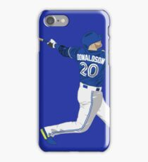 Josh Donaldson Swing Art iPhone Case/Skin
