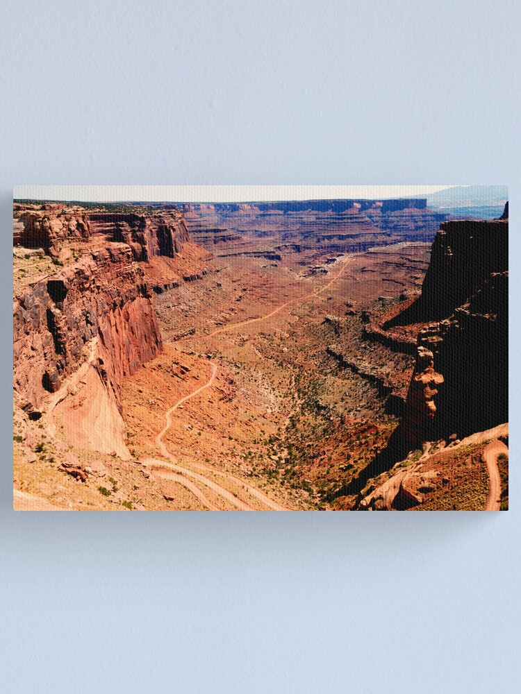 Alternate view of Canyonlands The Bowl Canvas Print