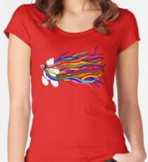 Bear Pride - All the Rainbows Women's Fitted Scoop T-Shirt