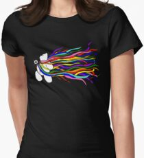 Bear Pride - All the Rainbows Womens Fitted T-Shirt