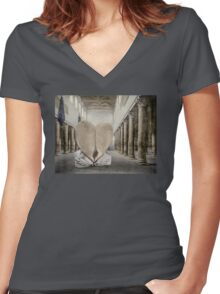 At the Colonnade Women's Fitted V-Neck T-Shirt
