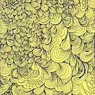 Yellow Swirls by kathleenmarie