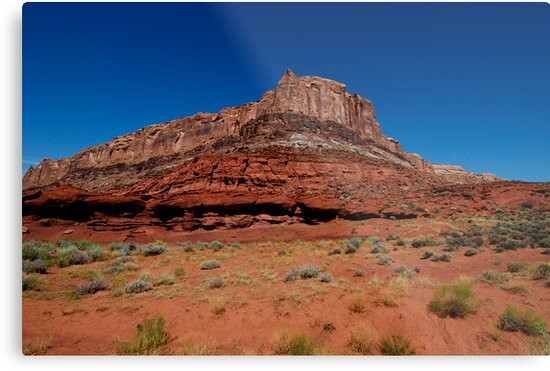 Canyonlands Red Butte by J. D. Adsit