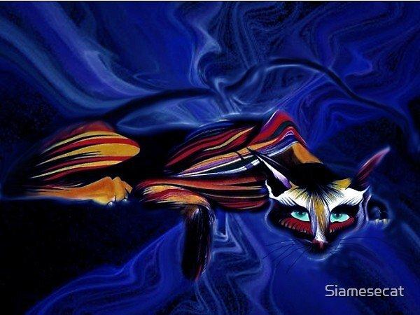 Blue Boy. by Siamesecat