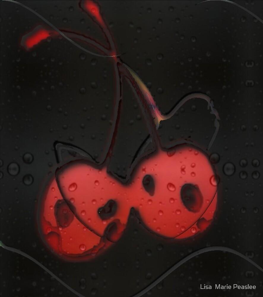 Deux Cherry by Lisa  Marie Peaslee