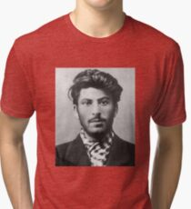 Young Stalin Tri-blend T-Shirt