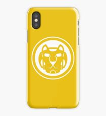 Yellow Lion iPhone Case