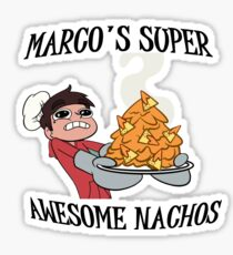 Marco's Super Awesome Nachos Sticker