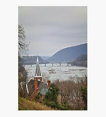 Harpers Ferry View Photographic Print