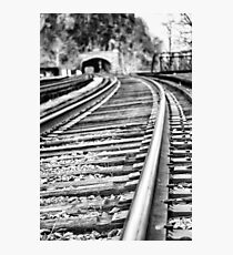 Harpers Ferry Railroad Photographic Print