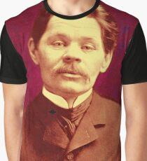 MAXIM GORKY Grafik T-Shirt