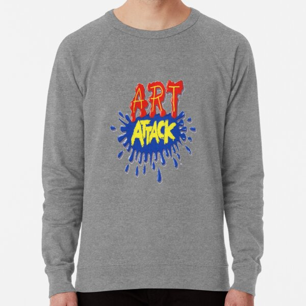 Art Attack!  Lightweight Sweatshirt