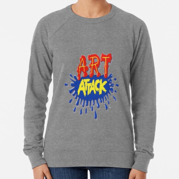 Art Attack!  Lightweight Sweatshirt