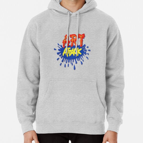 Art Attack!  Pullover Hoodie