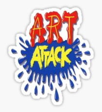 Art Attack!  Sticker
