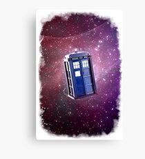 Blue Box nebula Tee Tardis Hoodie / T-shirt Canvas Print